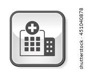 hospital icon   Shutterstock .eps vector #451040878