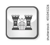 castle icon | Shutterstock .eps vector #451041226