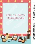 illustration vector for beauty...   Shutterstock .eps vector #451050112