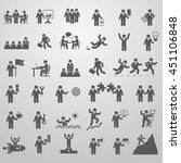 big set of icons for business....   Shutterstock .eps vector #451106848