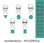 beauty vector illustration of... | Shutterstock .eps vector #451109416