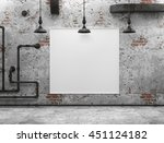 3d illustration. white... | Shutterstock . vector #451124182