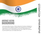 vector background with indian... | Shutterstock .eps vector #451143115