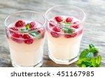 sparkling raspberry  ... | Shutterstock . vector #451167985