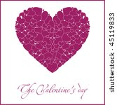 violet art heart