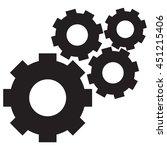 gear icon vector illustration | Shutterstock .eps vector #451215406