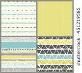 boho seamless texture. ethnic...   Shutterstock .eps vector #451219582