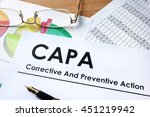 paper with words capa... | Shutterstock . vector #451219942