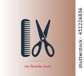 barber vector icon | Shutterstock .eps vector #451226836