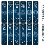 Vertical Zodiac Signs Banners...
