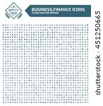 big icon business and office... | Shutterstock .eps vector #451250665