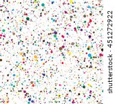 seamless colorful confetti... | Shutterstock .eps vector #451272922