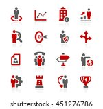 company strategy icons | Shutterstock .eps vector #451276786