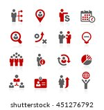 business efficiency icons | Shutterstock .eps vector #451276792
