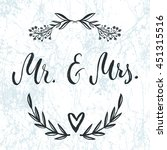 Mr And Mrs Invitation Card....