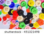colorful clothing buttons | Shutterstock . vector #451321498