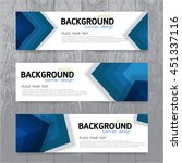 vector background  banner... | Shutterstock .eps vector #451337116