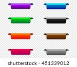 set of markers  bookmarks.... | Shutterstock .eps vector #451339012