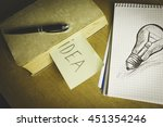 idea  | Shutterstock . vector #451354246