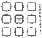 decor elements or shape for... | Shutterstock . vector #451358752