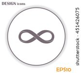 infinity sign | Shutterstock .eps vector #451426075