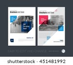 brochure template layout  cover ... | Shutterstock .eps vector #451481992