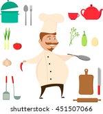 beautiful vector illustration... | Shutterstock .eps vector #451507066