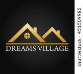 dreams village real estate... | Shutterstock .eps vector #451509982