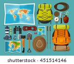 travel tourism vector... | Shutterstock .eps vector #451514146