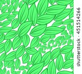 seamless pattern from green... | Shutterstock .eps vector #451514266