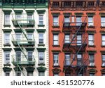 red and green apartment... | Shutterstock . vector #451520776