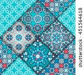 vector abstract seamless... | Shutterstock .eps vector #451564618