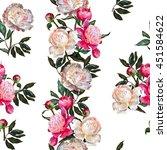 Seamless Floral Pattern.white...