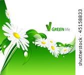 vector environmental background ... | Shutterstock .eps vector #45158833