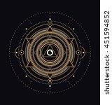 sacred symbols design  ... | Shutterstock .eps vector #451594852