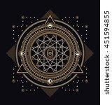 sacred symbols design  ... | Shutterstock .eps vector #451594855