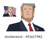 new york city   september 3...   Shutterstock .eps vector #451617982