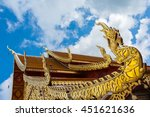 wat phra that doi suthep.... | Shutterstock . vector #451621636