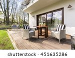 Big Wooden Cozy Porch With...