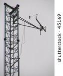 urban rooftop weather station... | Shutterstock . vector #45169