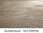 Modern  Cobblestone Paving In...