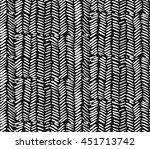 hand drawn graphic brush... | Shutterstock .eps vector #451713742
