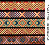 beading design  tribal design ... | Shutterstock .eps vector #451714972