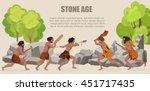 stone age war primitive men...