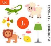 Letter L. Cartoon Alphabet For...
