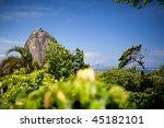 sugar loaf mountain in rio de...   Shutterstock . vector #45182101