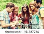 technology  travel  tourism ... | Shutterstock . vector #451887766