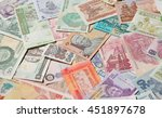 variety of the african banknotes | Shutterstock . vector #451897678