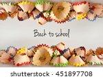 back to school background | Shutterstock . vector #451897708