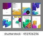 geometric cover background ...   Shutterstock .eps vector #451926256